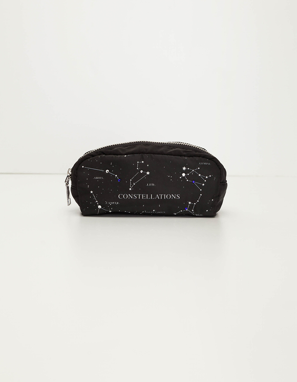 Trousse de Maquillage Noire Constellations