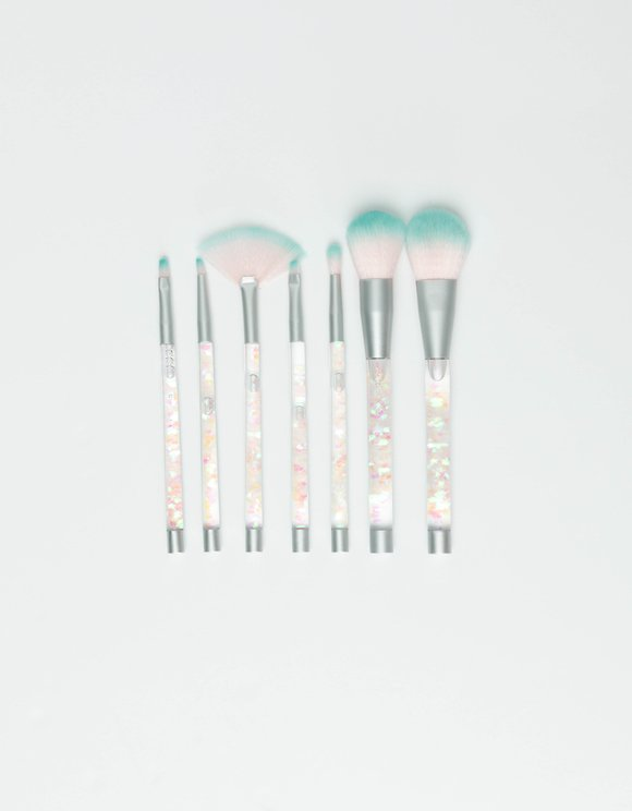 Lot de Pinceaux de Maquillage Irisés