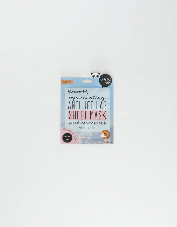 """Oh K!"" Anti-Jet Lag Sheet Mask"