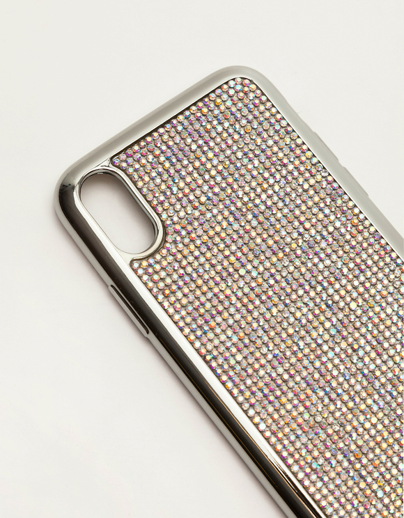 Rhinestone Encrusted Iphone X Case