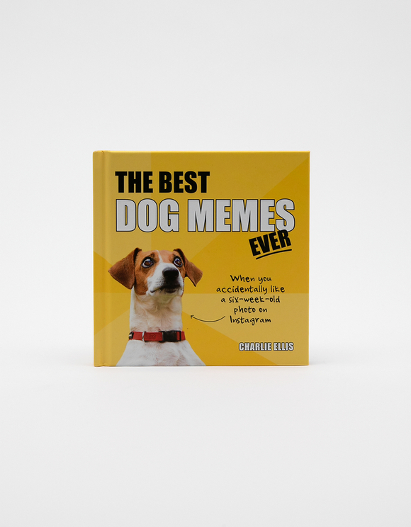 "Englisches Buch ""The Best Dog Memes Ever"""
