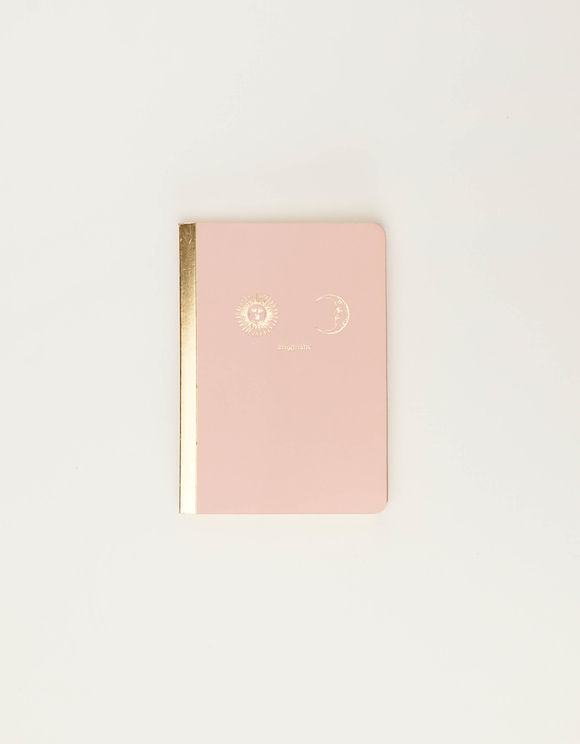 A5 Notebook with Gold Foil