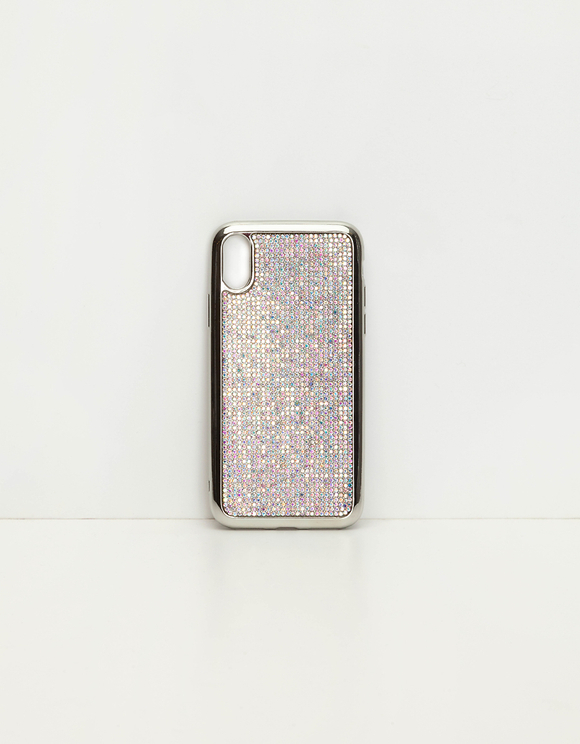 Coque iPhone Incrustée de Strass
