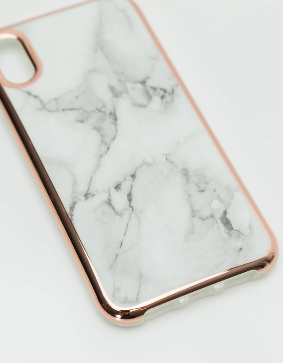 Coque iPhone X Imprimé Marbre