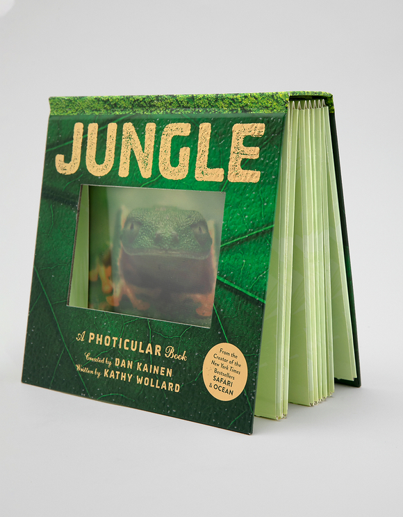 "Englisches Buch ""Jungle: A Photicular Book"""