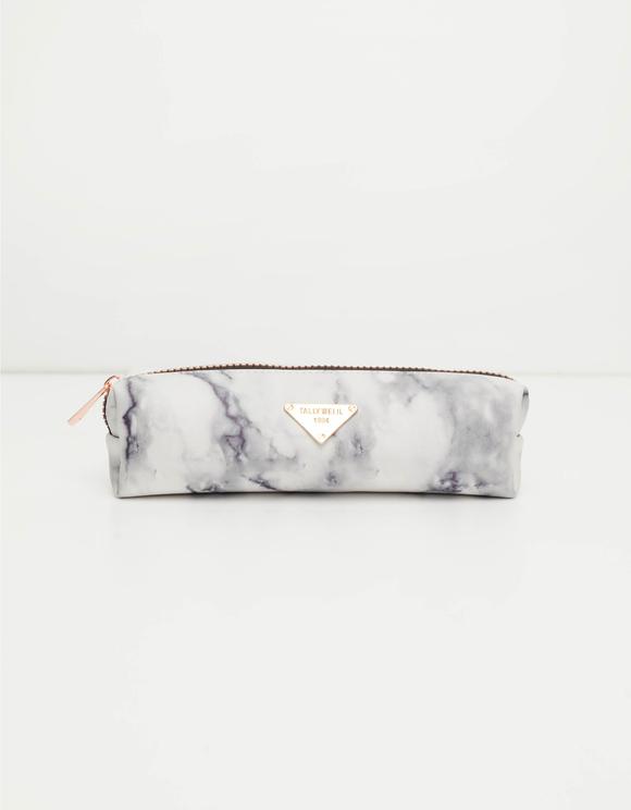 Marble Print Pencil Case