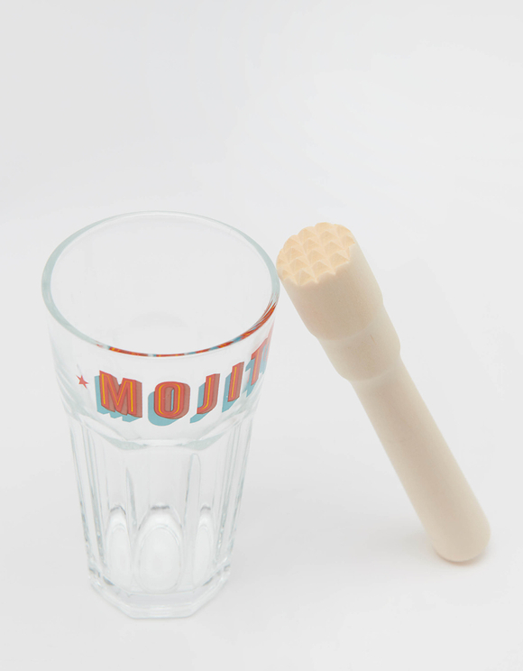 Mojito Set 2 Glasses & Muddler
