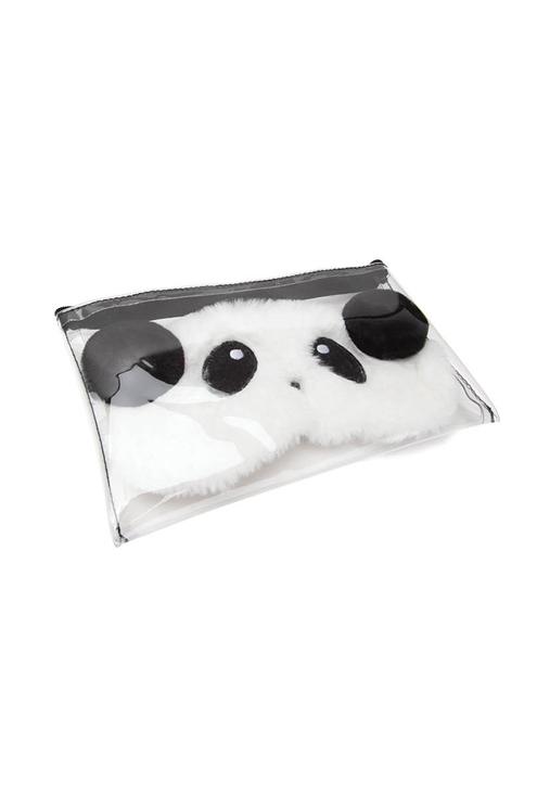Panda Fluffy Mask