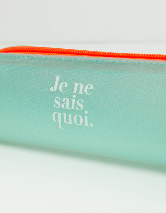"""Je ne sais quoi"" Pencil Case"