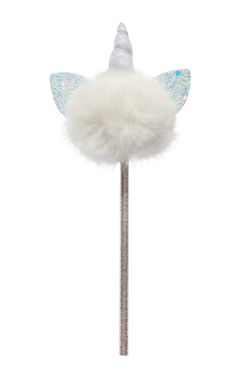 UNICORN POMPOM PENCIL AA OS