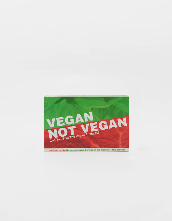 Jeu en Anglais Vegan Not Vegan