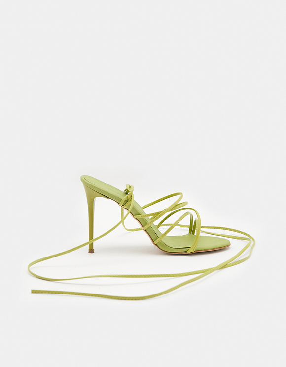 Heeled Sandals with Straps