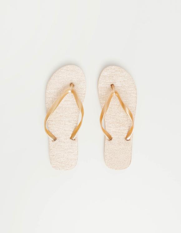 Glitzernde Flip-Flops