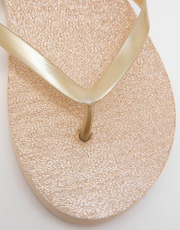 Goldene Flip-Flops