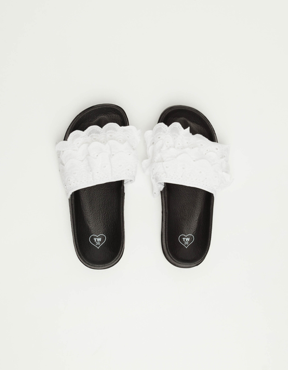Black and White Sliders