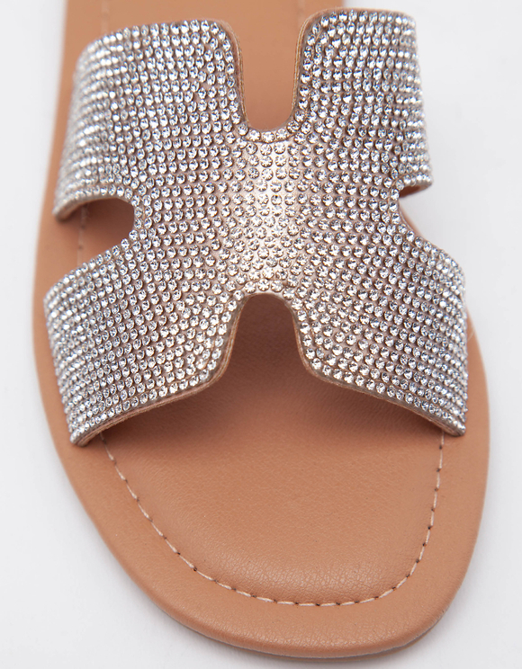 Mules avec Strass