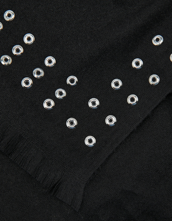 Rivet Detail Scarf