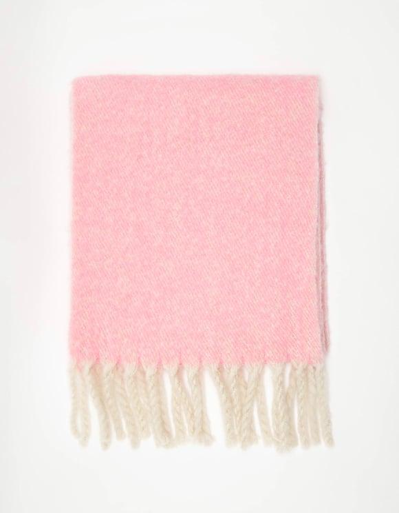 Piker weicher Schal mit Fransen