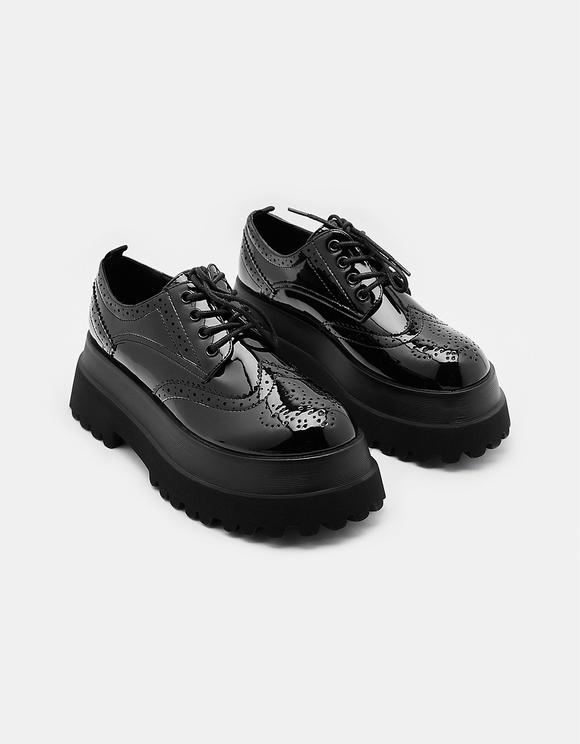 Black Platform Shoes