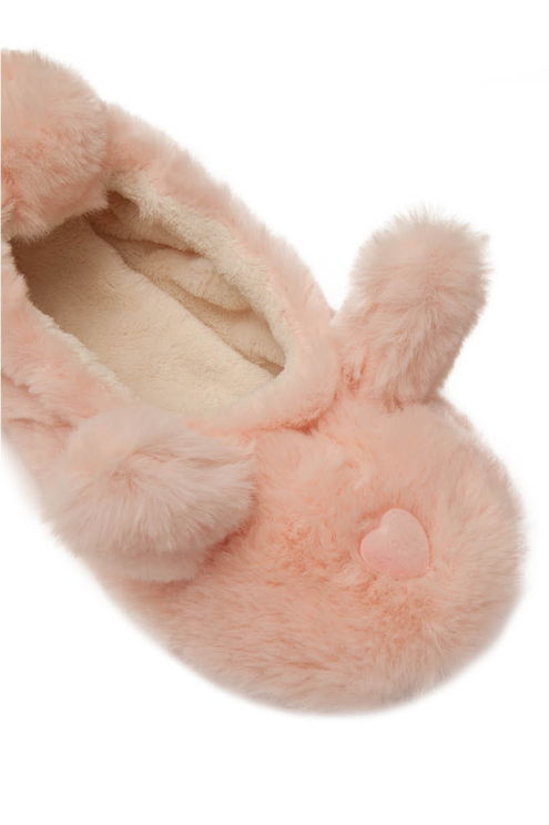 Pink Bunny Slippers