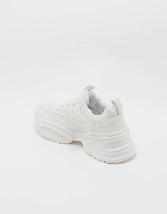 Chunky White Trainers