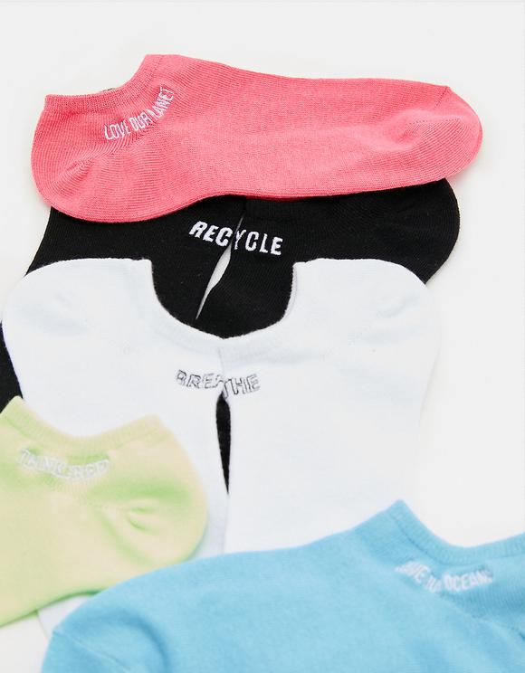 5 Pack Printed Socks