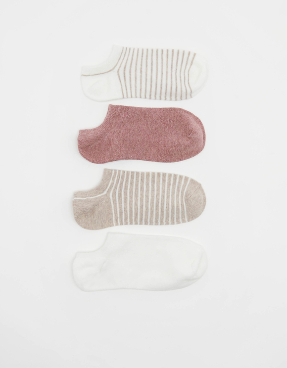 4 Pack Trainer Socks