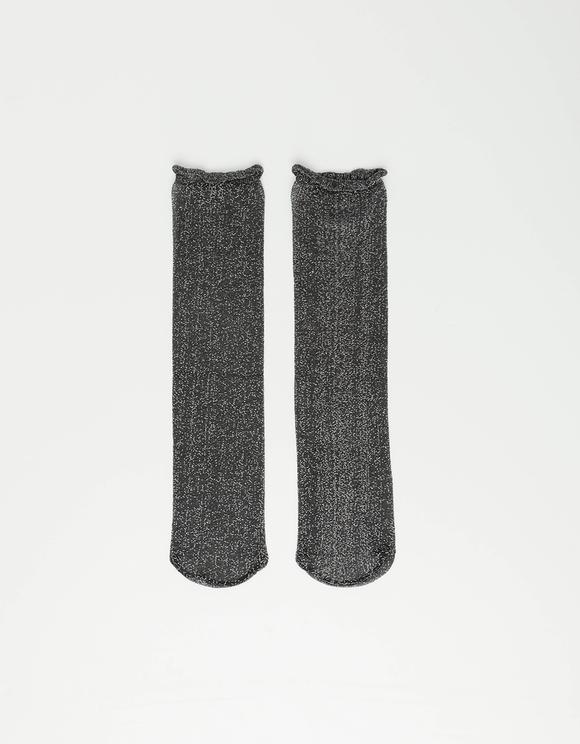 Lurex Socken