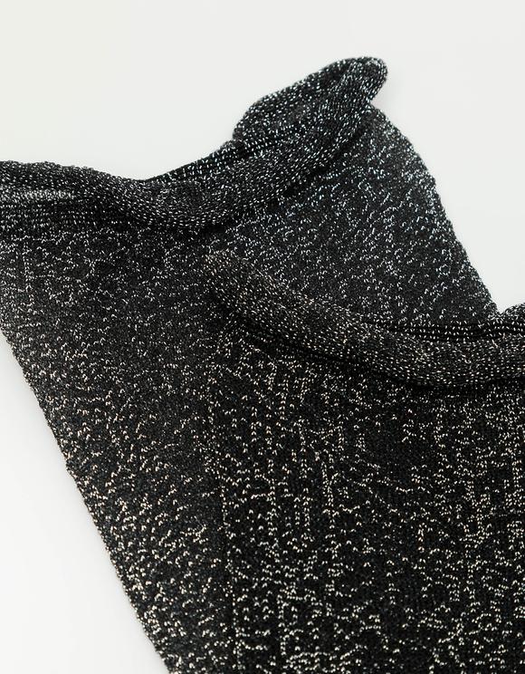 Lurex Calf Length Socks
