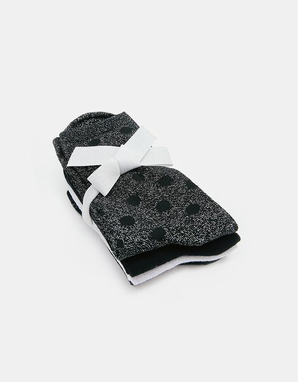 Socken aus Lurex im 5er Pack