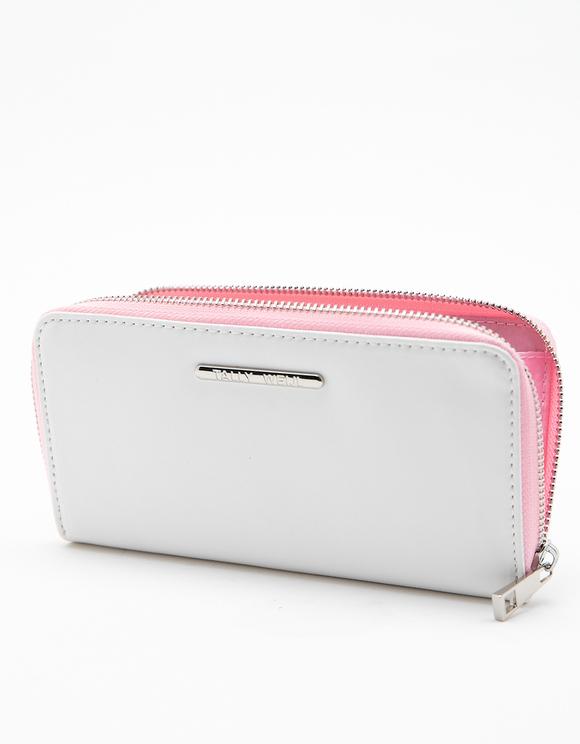 Weiße Brieftasche