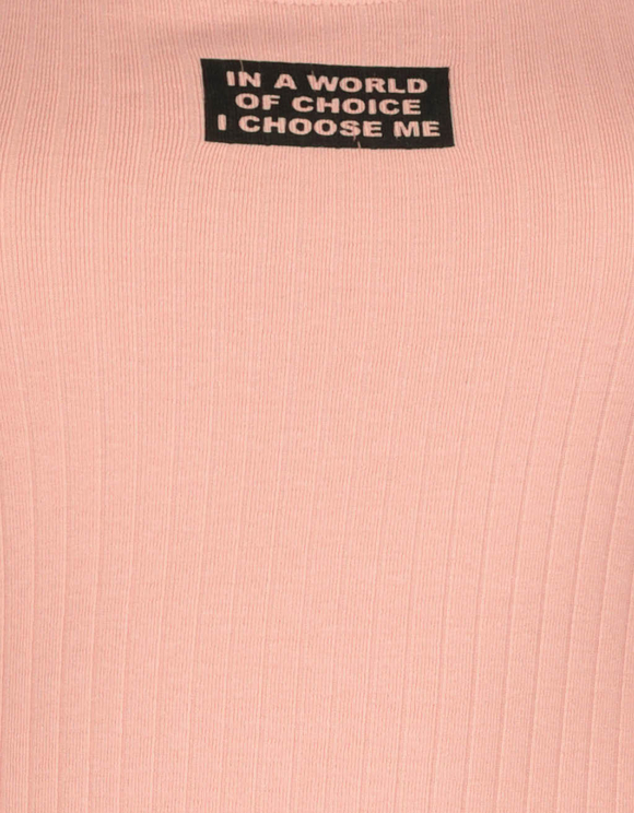 Pink Bodysuit with Slogan