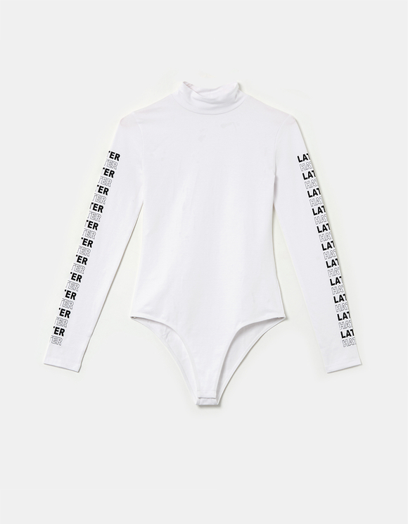 Body Imprimé Blanc