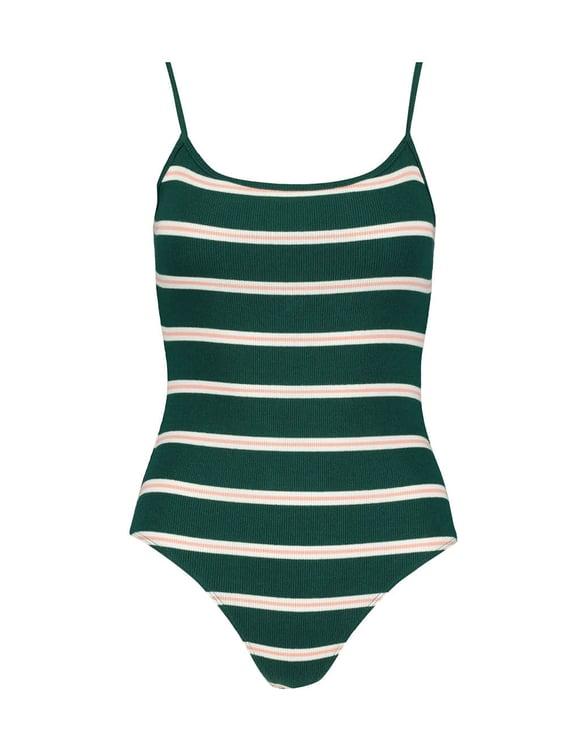 Body Vert Rayé
