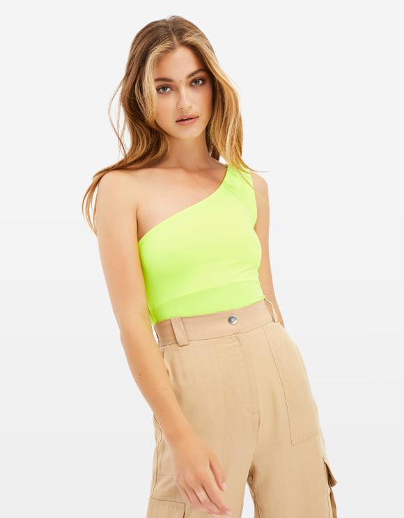 Neon Yellow Bodysuit
