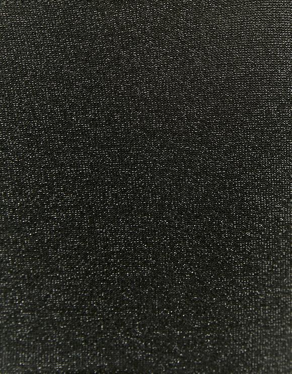 Black Structured Cups Lurex Bodysuit