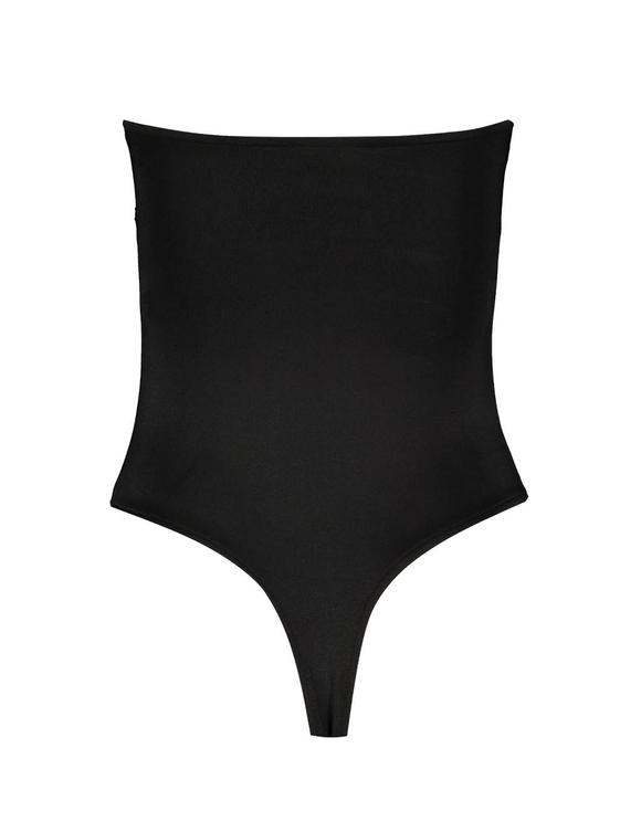 Black Bandeau Bodysuit