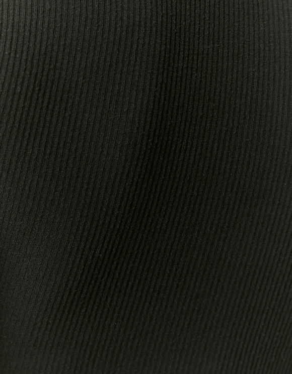 Body Côtelé Noir