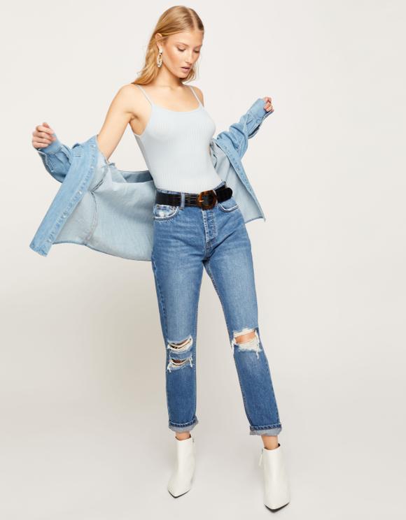 Light Blue Bodysuit