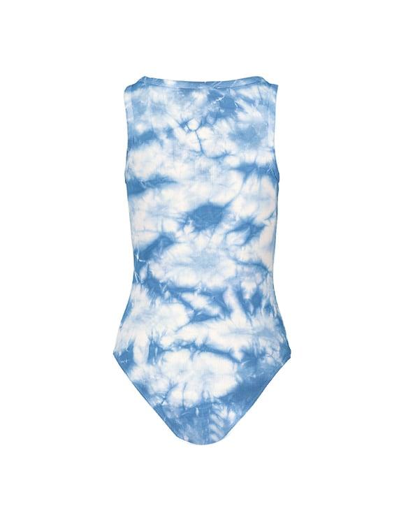 Blue Tie Dye Bodysuit