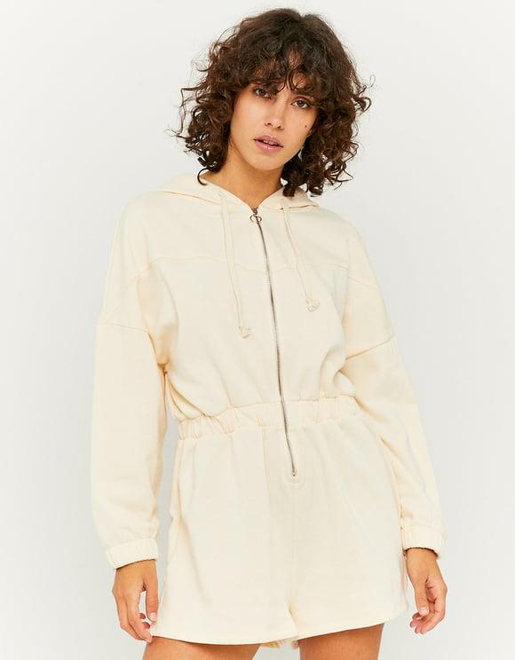 Fleece Long Sleeves Playsuit
