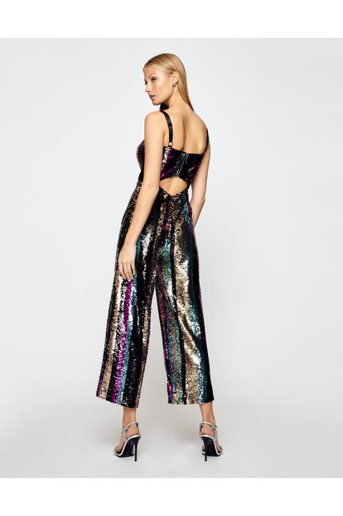 Multicolor Sequin Jumpsuit