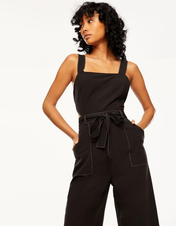 Black Cut Out Jumpsuit