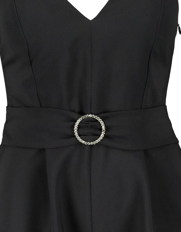 Black Belted Playsuit