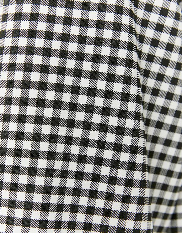Hemdjacke mit Vichy-Muster