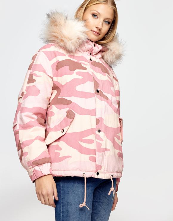 Pink Camo Jacket
