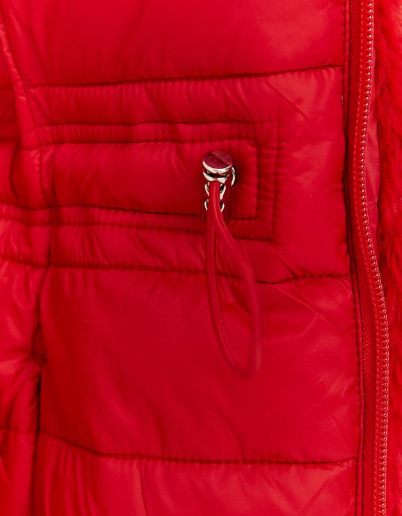 Red Puffer Coat
