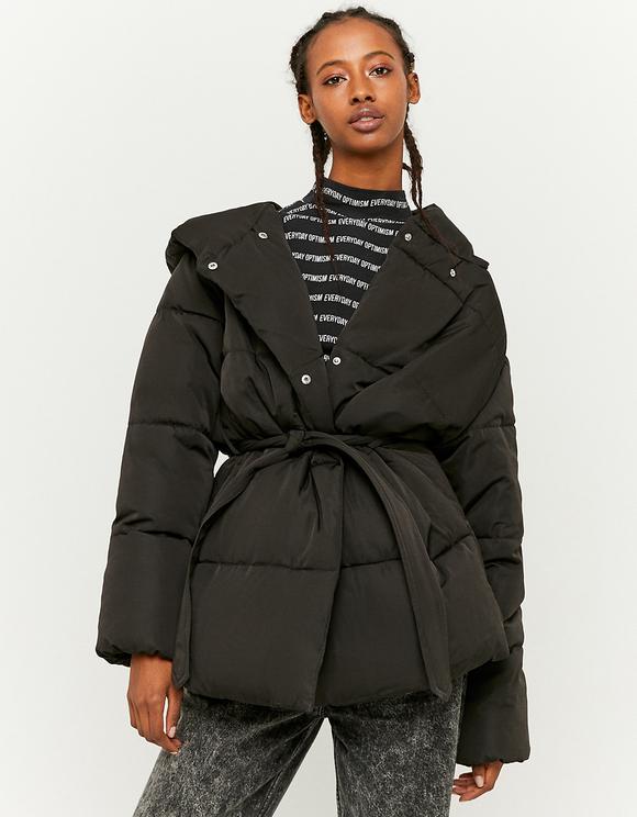 Wrap Puffer Jacket