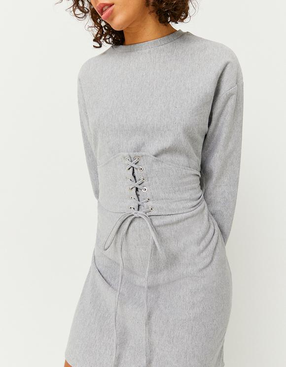 Grey Corset Dress