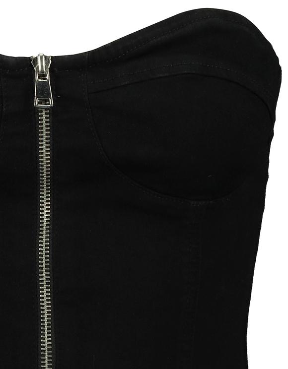 Robe Bustier Moulante Noire
